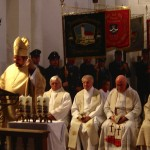 Weihbischof Wolfgang Bischof bei seiner Predigt in der Aufkirchener Pfarrkirche
